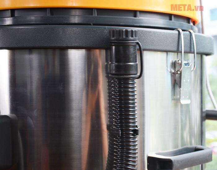 Máy hút bụi công nghiệp chuyên dụng cho xưởng kho chế biến sản xuất nhiều bụi