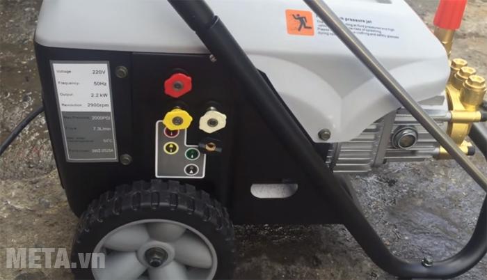Máy phun rửa cao áp bán chuyên nghiệp Lutian LT-16MC điều chỉnh được tia phun