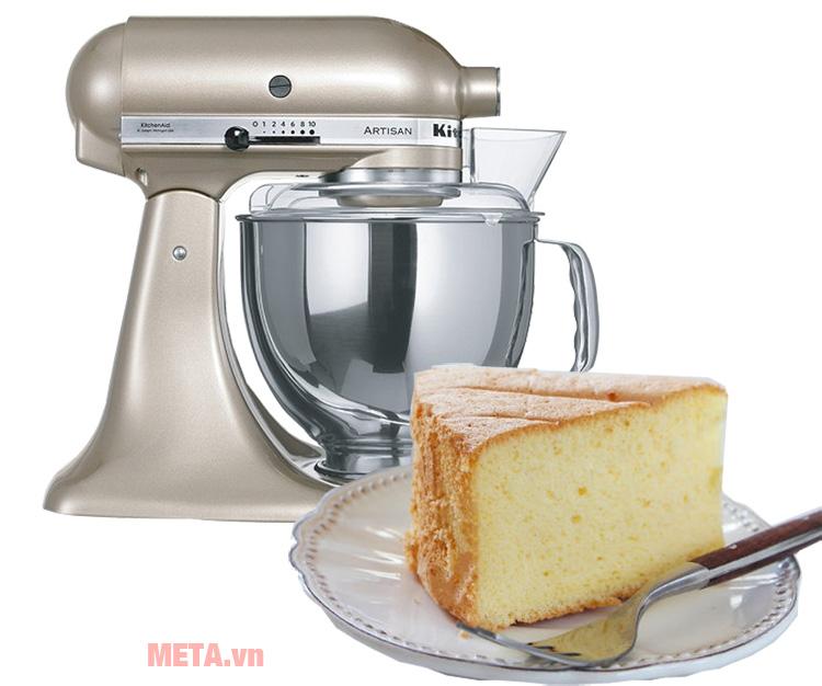 Máy trộn bột đa năng Artisan KitchenAid 5KSM150PSECZ hỗ trợ đắc lực trong công việc làm bánh