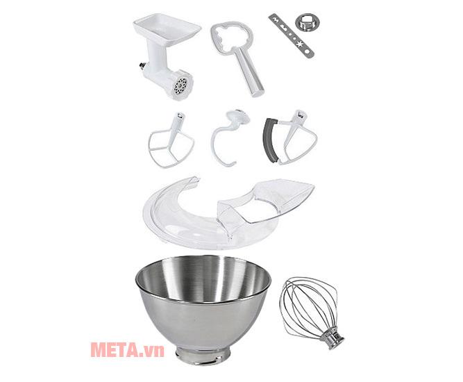 Bộ phụ kiện của máy trộn bột đa năng Artisan KitchenAid 5KSM150PSECZ