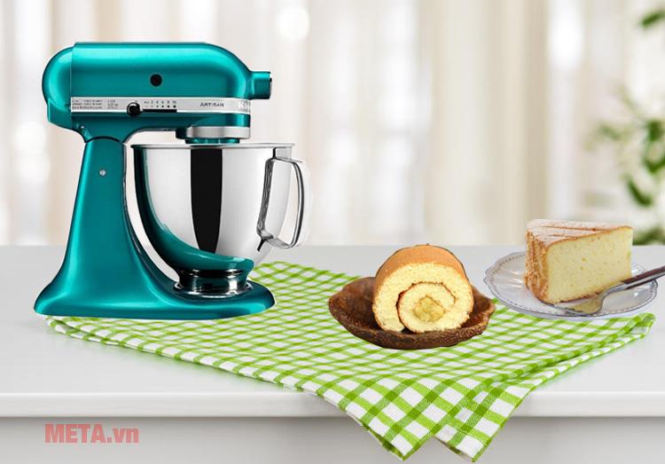 Máy trộn Artisan KitchenAid 5KSM150PSESA hỗ trợ bạn trong công việc làm bánh