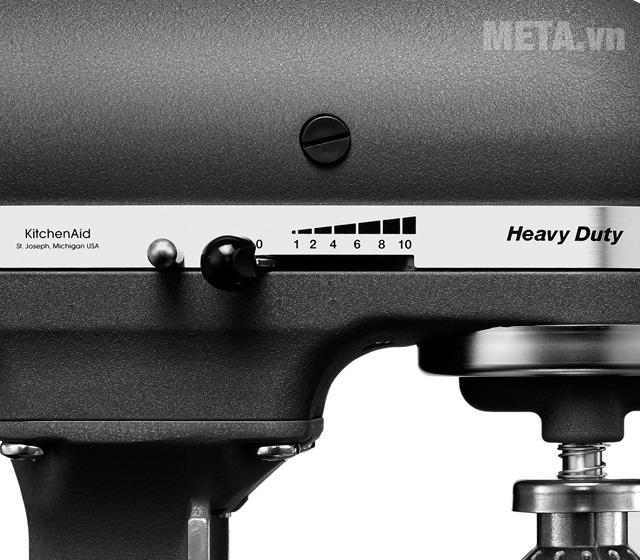 Máy trộn bát nâng KitchenAid 5KPM50EGR có 10 tốc độ
