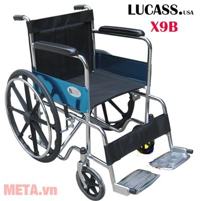 Hình ảnh xe lăn tay thường bánh đúc Lucass X9B