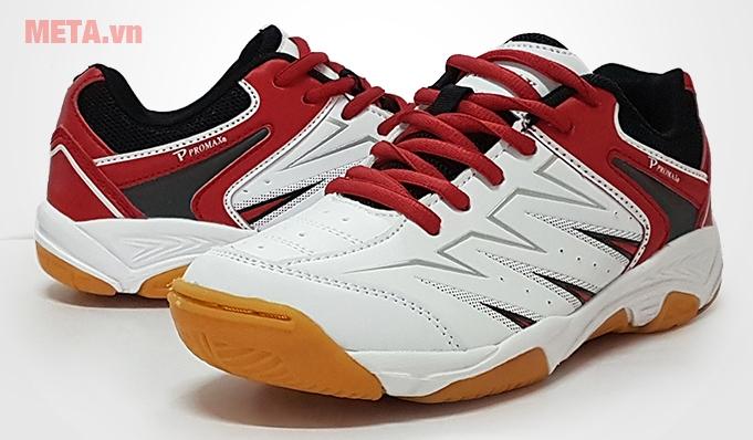 Giày cầu lông Promax PR17009 màu đỏ trắng nổi bật
