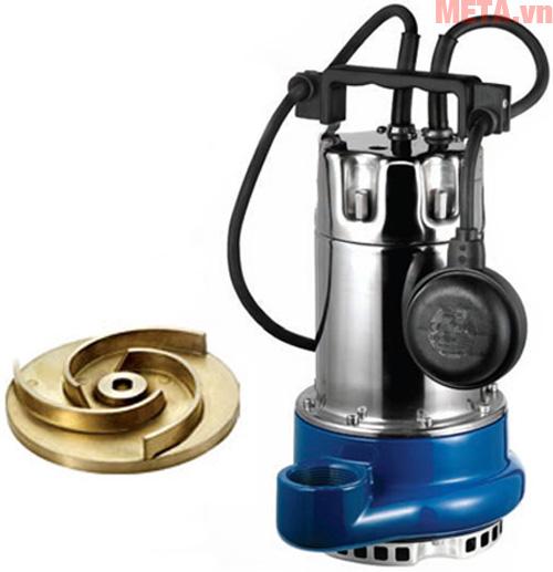 Hình ảnh máy bơm chìm nước thải Pentax DHT 80 1.3HP