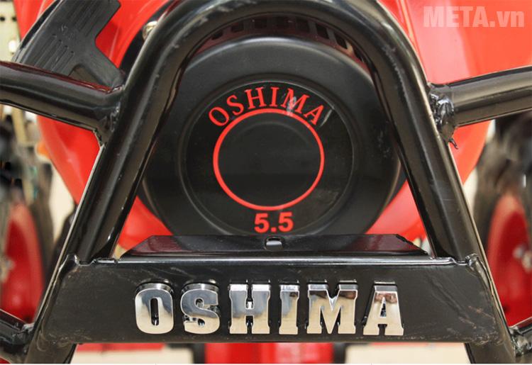 Máy xới đất Oshima XDD1 hoạt động với công suất 5.5HP