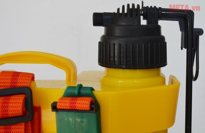 Nơi dẫn dung dịch hóa chất để phun xịt trừ sâuPhụ kiện và thân được làm bằng nhựa cao cấp, chống chịu mài mòn cao