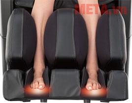 Ghế massage toàn thân Fujiiryoki EC-3900 giúp massage bắp chân