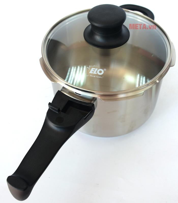 Nồi áp suất Elo Praktika XS Darling tích hợp bếp gas, bếp hồng ngoại, bếp từ...
