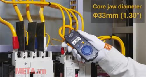 Ampe kìm AC Hioki 3280-20F mở đầu kìm dễ dàng