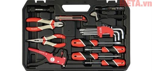 Bộ dụng cụ sửa chữa tổng hợp 68PCS YATO YT-39004 với nhiều dụng cụ và kích cỡ khác nhau