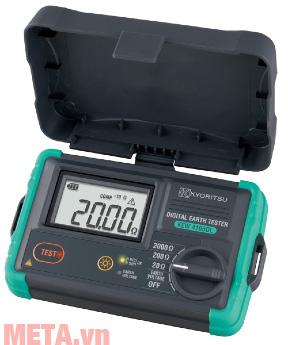 Máy đo điện trở đất Kyoritsu 4105DL dùng 6 pin LR6 1.5V