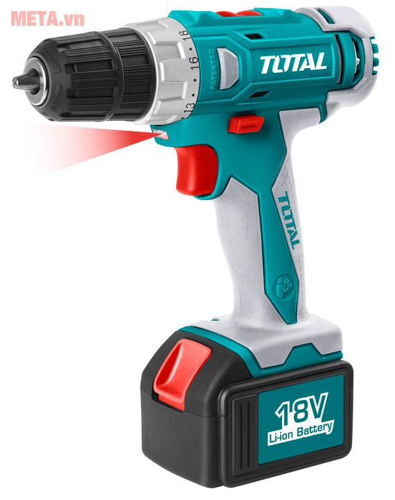 Máy khoan vặn vít dùng Pin Total TDLI228180