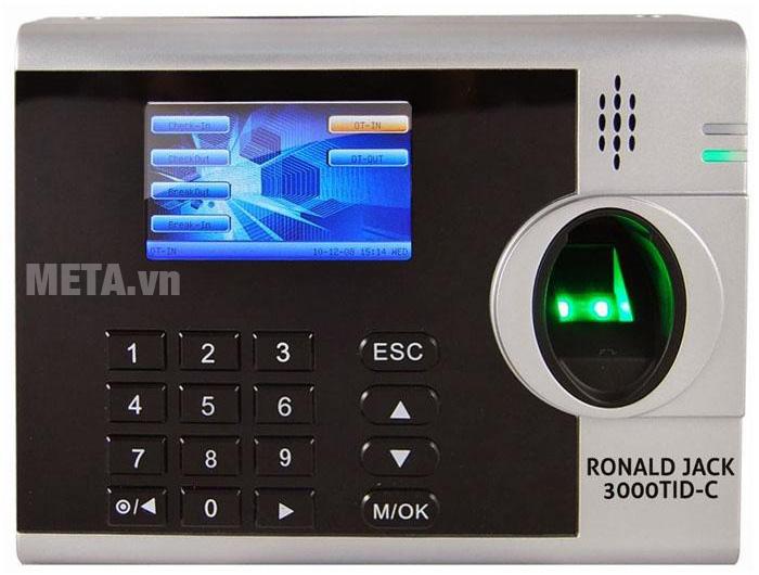 Máy chấm công Ronald Jack 3000TID-C dành cho công ty, xưởng sản xuất