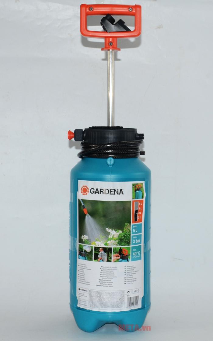 Dung tích bình lớn 5 lít cho phép nhiệt độ nước sử dụng là 40 độ C