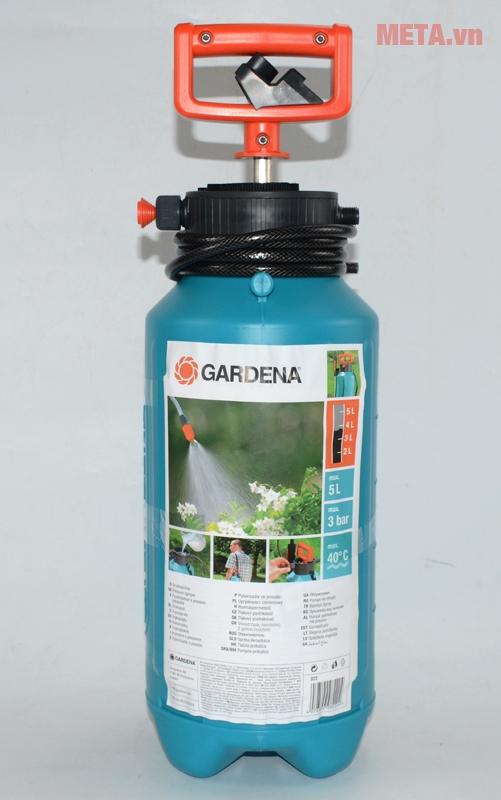 Tổng quan bình xịt áp suất 5 lít Gardena 00822-20