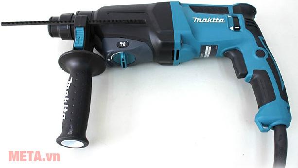 Máy khoan động lực Makita HR2600 màu xanh đen
