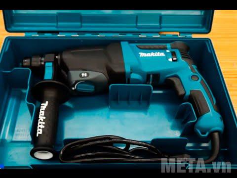 Máy khoan động lực Makita HR2600 khi mở hộp