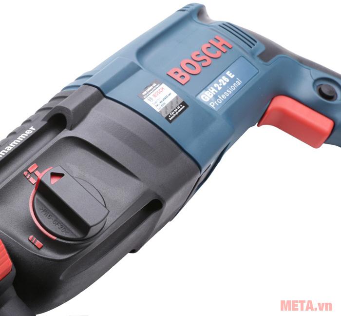 Máy khoan búa Bosch GBH 2-26E có tem chống hàng giả
