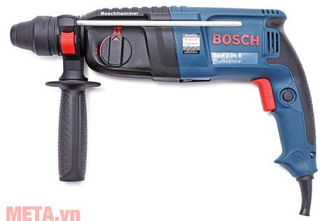 Máy khoan búa Bosch GBH 2-26E màu xanh đen