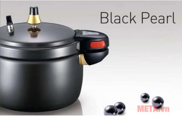 Nồi áp suất PoongNyun PSPC-22CV có màu đen sang trọng
