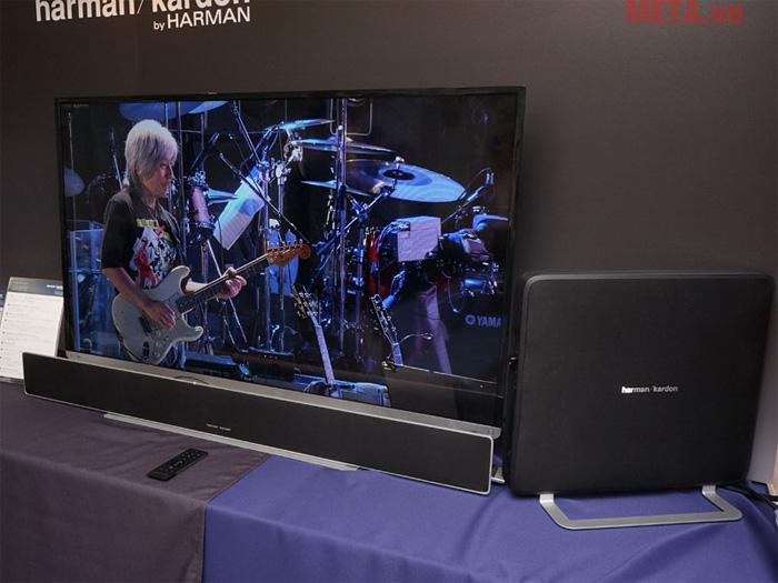 Harman Kardon SB35/230 có khả năng kết nối với hầu hết các thiết bị thông minh