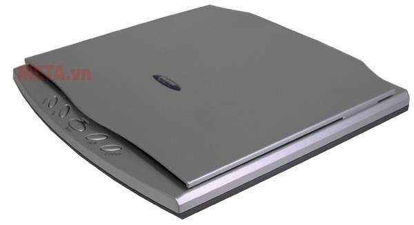 Máy scan hộ chiếu Plustek OS550 Plus có thiết kế mỏng, nhỏ gọn