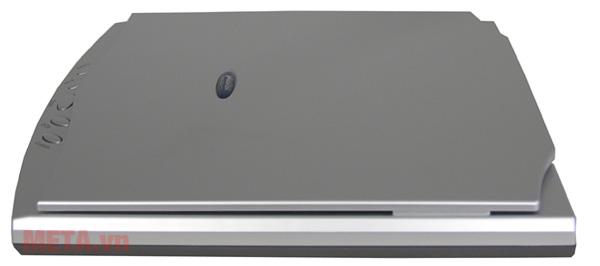 Mặt chụp ngang của máy scan hộ chiếu Plustek OS550 Plus