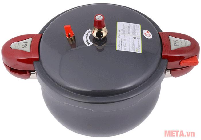 Nồi áp suất nhôm PoongNyun JSPC-24CV làm bằng chất liệu nhôm an toàn