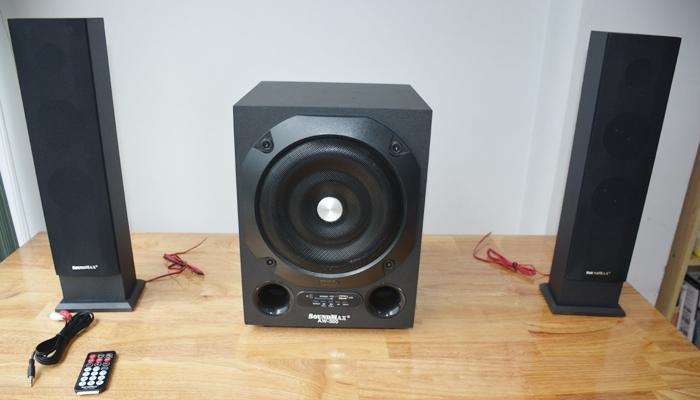 Loa máy tính Soundmax AW 300 phù hợp không gian rộng