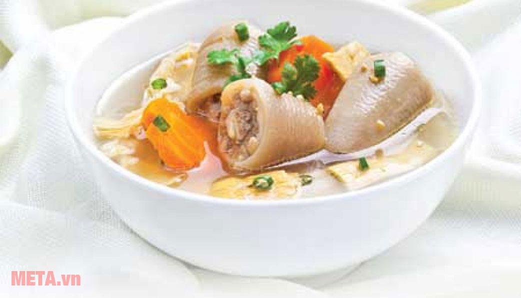 Nồi áp suất nhôm PoongNyun PC-30CV giúp chế biến món ăn ngon