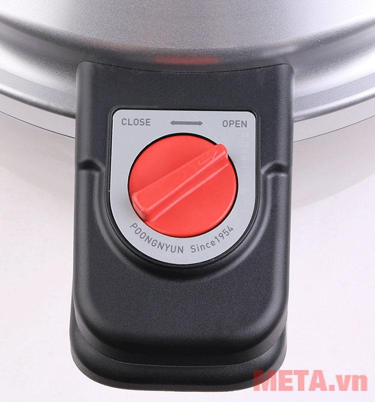 Nồi áp suất nhôm PoongNyun PC-30CV với tay cầm