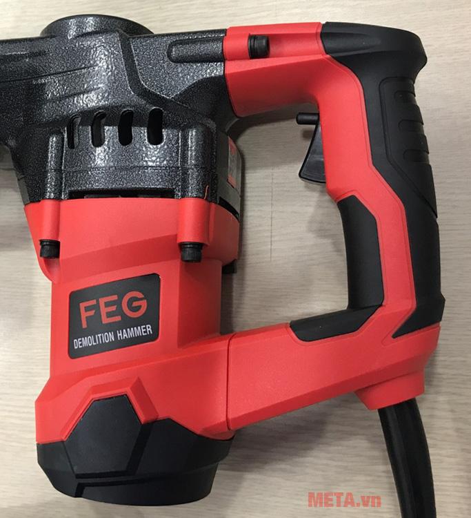 Máy đục bê tông FEG EG-581 có công suất 1050W