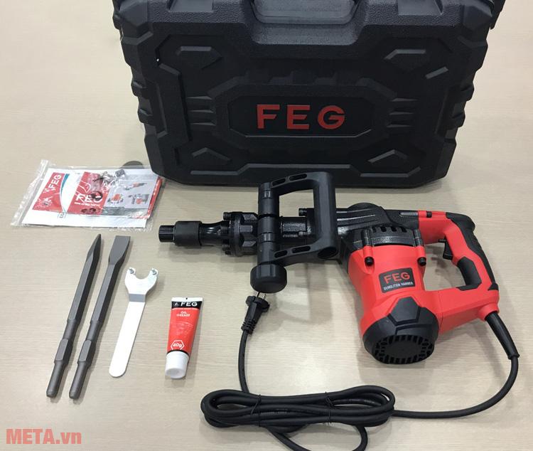 Máy đục bê tông FEG EG-581 chạy điện