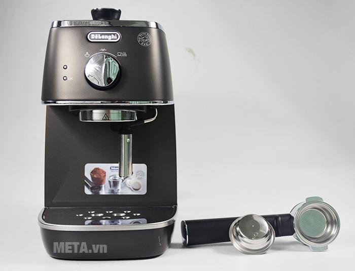 Máy pha cà phê Delonghi Distina ECI 341.BK có thiết kế tiện lợi