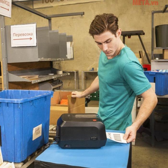 Máy in mã vạch Honeywell PC42 được ứng dụng trong nhiều công việc