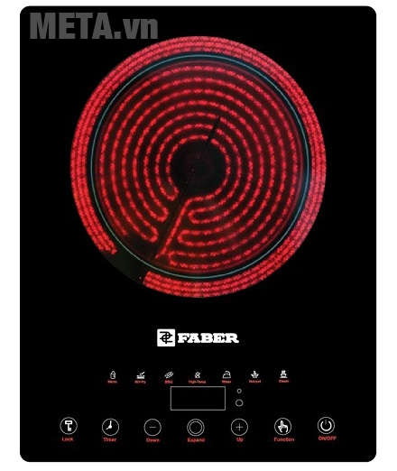Bếp hồng ngoại đơn Faber FB-EF2 có khóa trẻ em