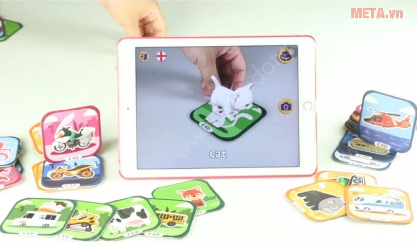 Bộ 96 thẻ 3D Ekidar dùng cho smartphone tablet