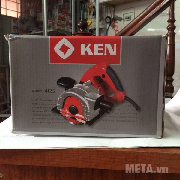 Hộp đựng máy cắt rãnh tường 2 lưỡi Ken 4125