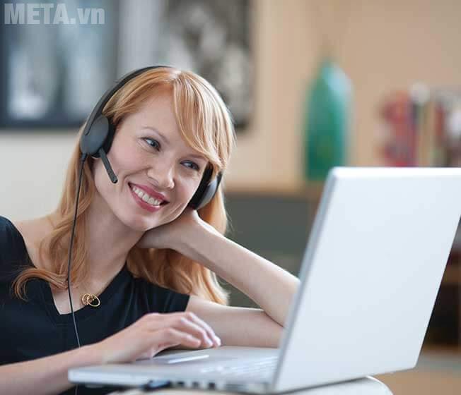 Tai nghe có dây Logitech H340 lọc tạp âm và tiếng ồn tốt