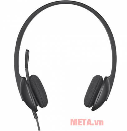 Tai nghe có dây Logitech H340 có thiết kế nhỏ gọn