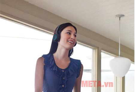Tai nghe không dây Logitech H600 giảm tối đa tiếng ồn và tạp âm