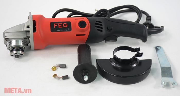 Trọn bộ sản phẩm máy mài góc FEG-914