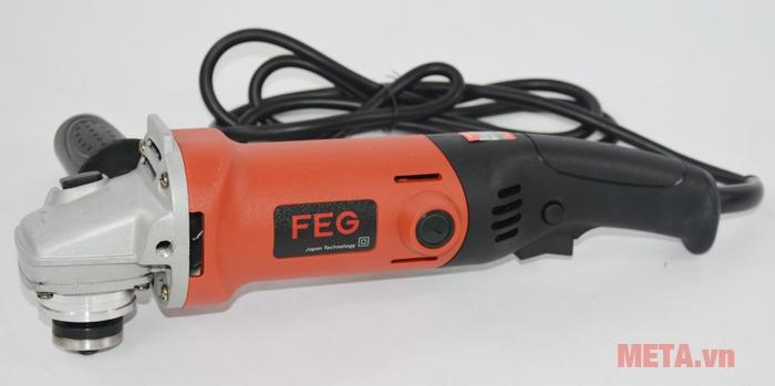 Máy mài góc FEG-914 có kết cấu máy rắn chắc