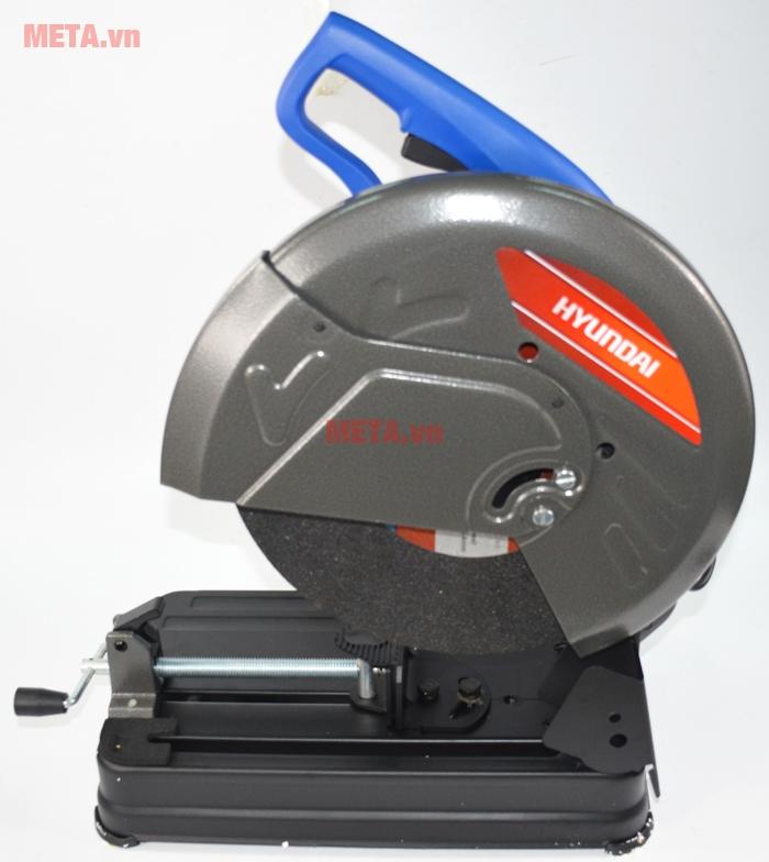 Máy cắt kim loại Hyundai HCS355S có đường kính lưỡi cắt 355mm