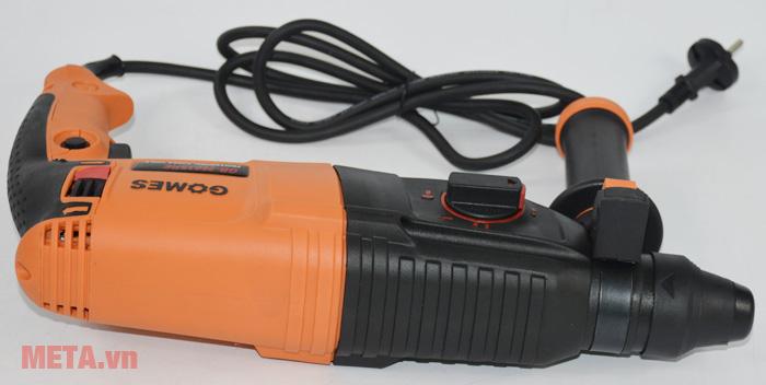 Máy khoan bê tông Gomes GB-2603SRE có dây dẫn điện dài
