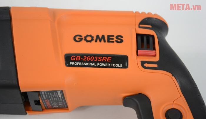 Máy khoan bê tông Gomes GB-2603SRE có khả năng vận hành bền bỉ