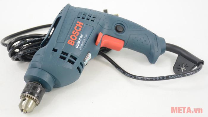 Máy khoan Bosch GBM 6 RE vỏ nhựa