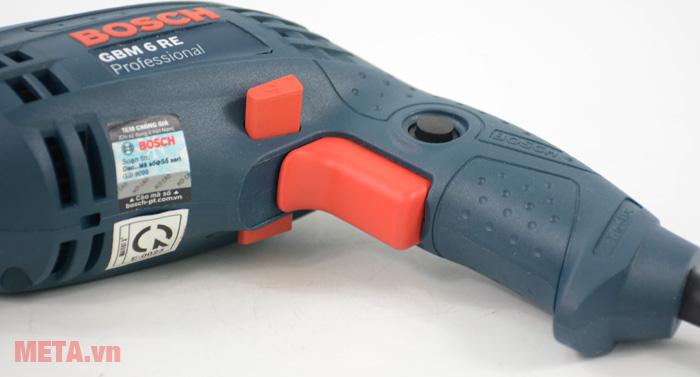 Máy khoan Bosch GBM 6 RE có tay cầm độ ma sát cao