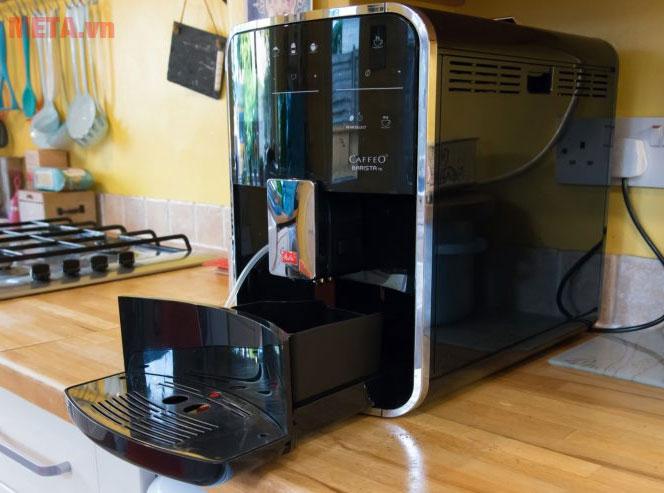 Máy pha cà phê Melitta Caffeo Barista TS thiết kế hiện đại